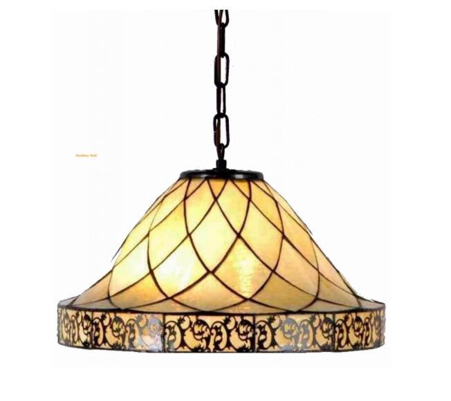 tiffany hanglamp filligrees filigrees cafe marmerglas horeca art deco